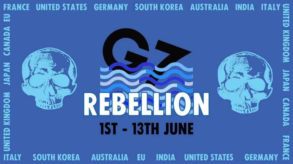 Promo image for G7 Rebellion: 1 - 13 June.